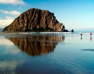 Chuck Abbe Morro Rock Reflection Small